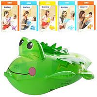 Игрушки надувные от 27см, 6видов (рыбка, уточка, крокодил, дельфин, кит, тюлень)