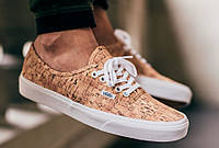 Кеды Vans authentic cork (Реплика ААА+), фото 1