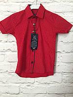 Рубашка с коротким рукавом для мальчиков 1-5 лет