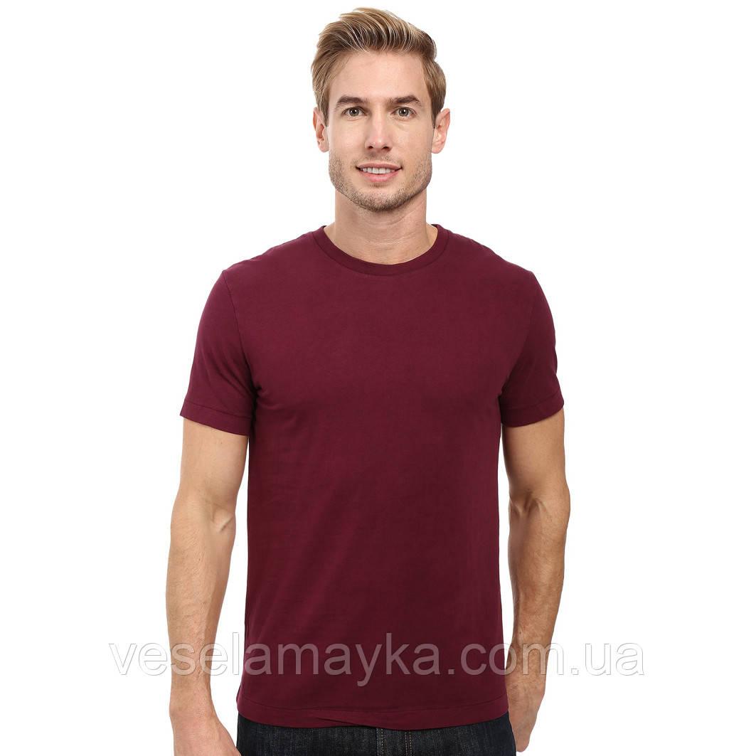 ebaf3d9e70160 Бордовая мужская футболка (Комфорт), цена 139 грн., купить в Киеве ...