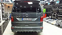 Volkswagen T6 2015+ Накладка на задний бампер AMG-style