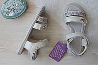 Белые сандалии на девочку ребристая подошваТомМ размеры 26