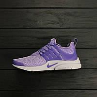 Женские кроссовки Nike Air Presto Violet. Живое фото. Топ качество! (Реплика ААА+)