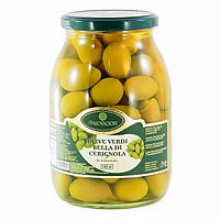 "Оливки зеленые гигантские ""Olive Verdi Cerignola Italcarciofi"", 1062 гр."