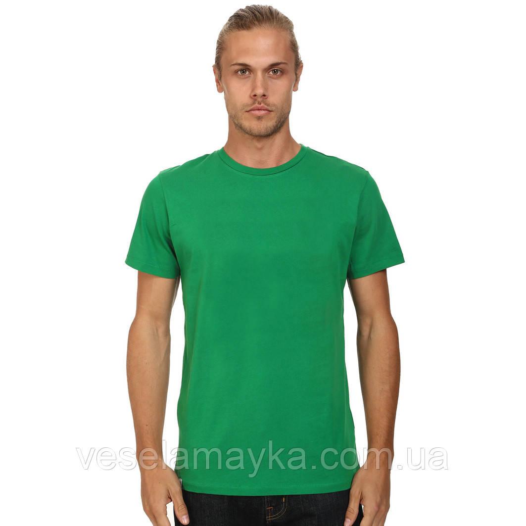 Зеленая мужская футболка (Комфорт)