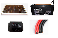 Автономна сонячна електростанція 50 Вт (від 6 кВт/місяць)
