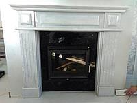 Мраморный портал из белого мрамора