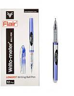 "Ручка шариковая Flair ""Sporty Writo meter"" 10 км. синяя"