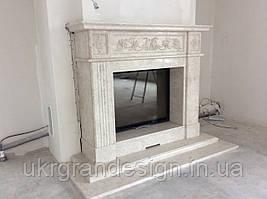 Каминный портал мрамор