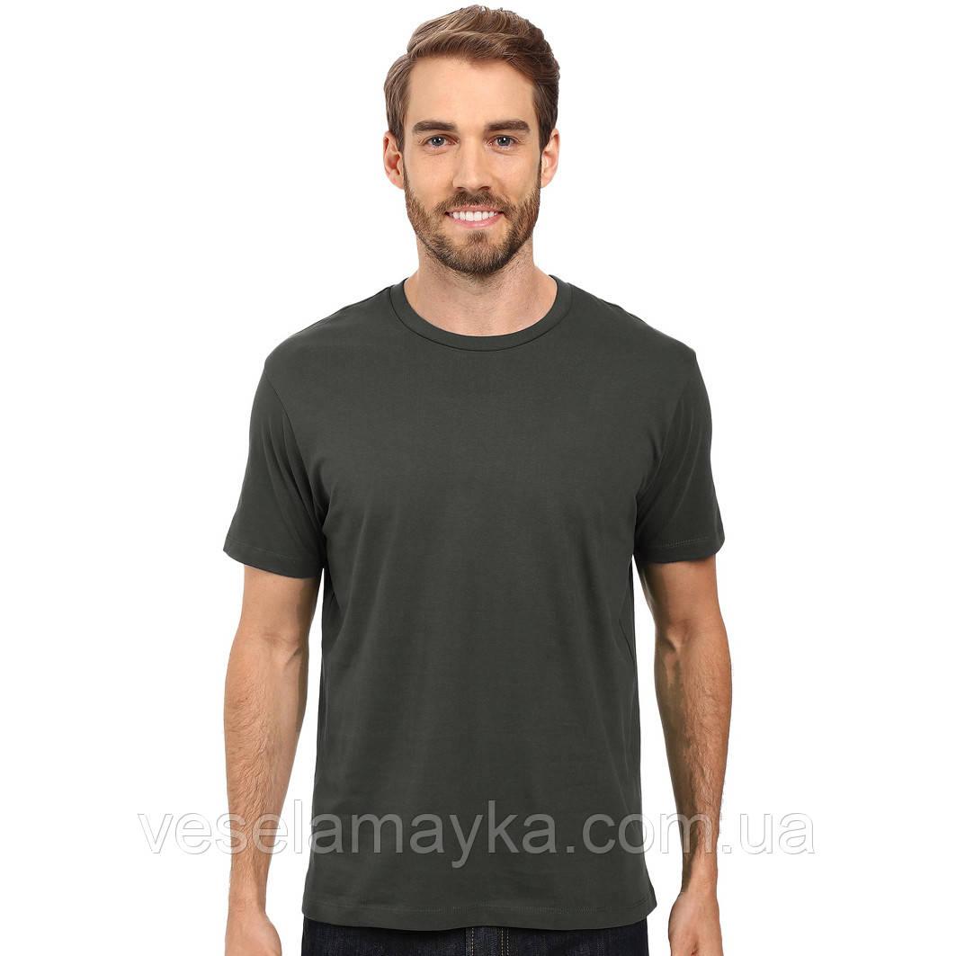 Темно-сіра чоловіча футболка (Комфорт)