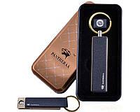 Спиральная USB зажигалка-брелок Pantheraa №4817-3, спираль накаливания, брелок, практичное приобретение