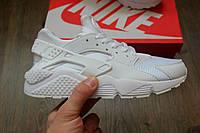 Кроссовки Nike Air Huarache White. Живое фото. Топ качество! (Реплика ААА+)