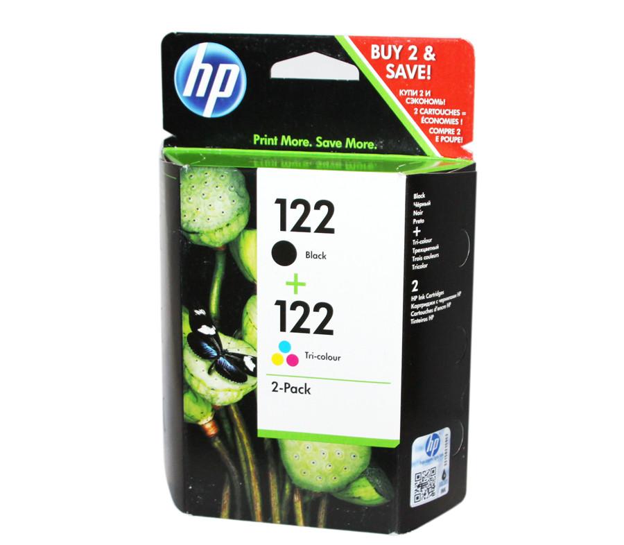 Комплект картриджей HP №122 (CH561HE) + №122 (CH562HE), DeskJet 2050, OEM (CR340HE)