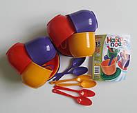 Детский набор посуды Юніка