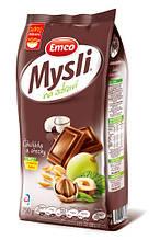 Мюсли Emco с шоколадом и орехами, 750 грамм