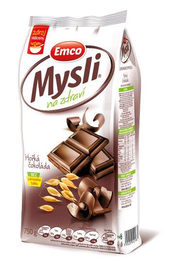 Мюсли Emco со вкусом горячего шоколада, 750 грамм