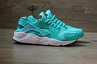 Кроссовки Nike Huarache Бирюзовые. Живое фото. Топ качество! (Реплика ААА+)