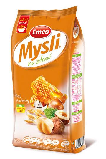 Мюсли Emco с орехами и медом, 750 грамм