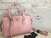 Нежная кожаная сумка Prada 0522