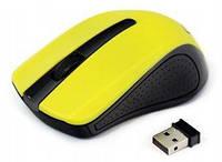 Мышка беспроводная Gembird MUSW-101-Y Yellow (MUSW-101-Y)