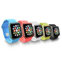 Накладка для Apple Watch Sport 38mm пластик (OC622) Ozaki (5 шт. В упаковке) Различные цвета (OC622)