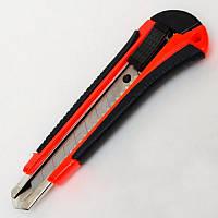 Нож канцелярский DSCN5680 металлический (18 мм.) микс цветов/блистер