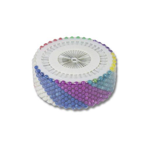 Булавки цветные 480 шт. 11981(BL0856-1)