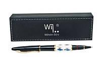 Ручка Wilhelm Buro WB189 капиллярная с камнями (в подарочном футляре)