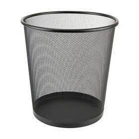 Корзина офісна металева (26*24 див.) DX-5003 чорна