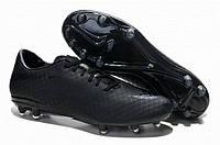 Футбольный бутсы Nike HyperVenom [AllBlack] (Реплика ААА+)