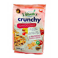 Мюсли овсяные Vitanella Crunchy Owocowe сухофрукты, 350г