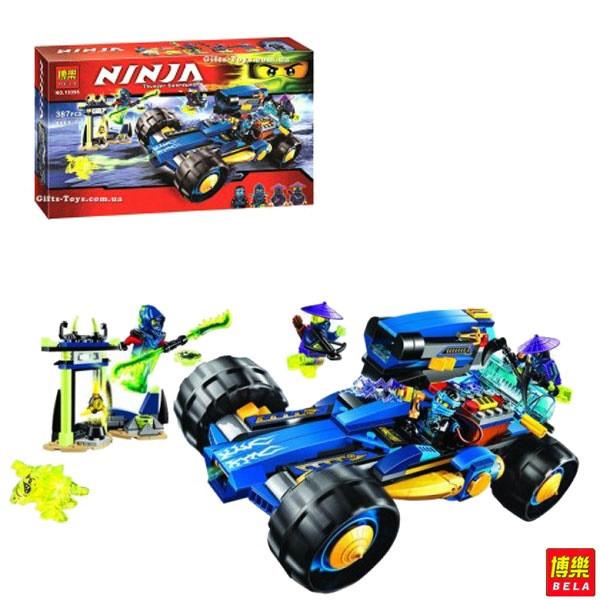 """Конструктор Bela Ninja 10396 (аналог Lego Ninjago) """"Шагоход Джея"""", 387 деталей"""