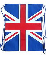 "Мешок для обуви 422 ""Английский флаг"""