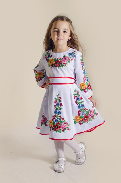 d6289d4864fa25 Дитячі вишиті сукні купити недорого - ціна від виробника | Інтернет-магазин  вишиванок ❰❰OLANA❱❱