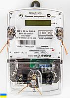 Счетчик ЛЕБ-Д1.О5 1,0 220В 5(60)А 1фазный электронный с ЖКИ, инд-тор электромагн. полей (Р), имп. выход (Укр)