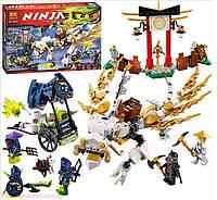 Конструктор Bela серия NINJA / Ниндзя 10397 Дракон Мастера Ву (аналог Lego Ninjago 70734) 573 деталей