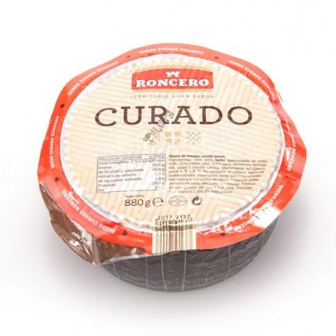 Сыр испанский Roncero Curado из коровьего, овечьего и козьего молока, 880 г.