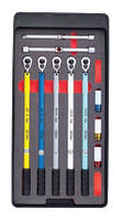 Набор динамометрических ключей для шиномонтажа 9 пред. Force 64707 F