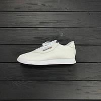 Кроссовки Reebok Classic White. Топ качество. Живое фото! (рибок, рибок классик)