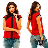 Блузочка безрукавка с полосочкой спереди, цвета тёмно-синяя, красная, зеленая, электрик, мятный,  все размеры