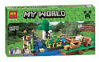 """Конструктор BELA """"Minecraft"""" Ферма (Аналог Лего) 262 дет."""