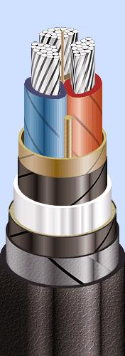 ААБл 3x50(ож)-10 кабель алюмінієвий на 10 кВ