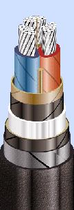 ААБл 3x50(ож)-10 кабель алюминиевый на 10 кВ