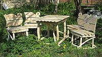Табуретка деревянная,стол,мебель для сада,мебель из дерева,мебель для дачи.