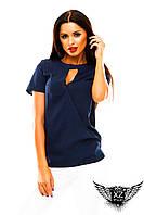 Блуза с рукавом, цвета тёмно-синяя, красная, белая, зеленая, желтая, все размеры, другие цвета