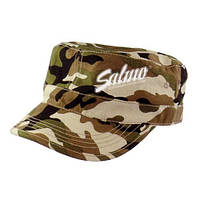 CAP1 Бейсболка SALMO PL (камуфляж с логотипом)