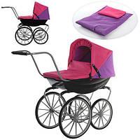 Детская коляска для кукол Melogo 9621 демисезонная