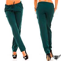 Женские брюки полуспорт, цвета черные, тёмно-синие, красные, темно-зеленые, бордовые, все размеры