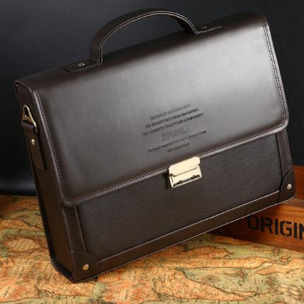 Мужская кожаная сумка. Модель 2239