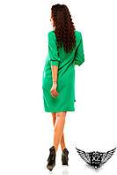 Платье-рубашка, выше колена, цвета малиновое, зеленое, мятное, все размеры и другие цвета
